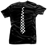 Checkered Tie T-Shirt