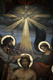 Christ's Baptism Fotografisk tryk