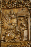 Mauer Bei Melk Church, Carved Altar, 1509, the Annunciation Given by the Angel Gabriel to Mary Photographic Print