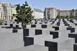 Holocaust Memorial in Central Berlin Photographic Print