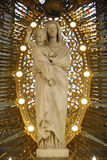 Virgin and Child Sculpture in Fourviere Basilica Photographic Print