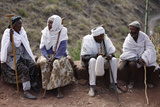 Villagers in Lalibela Photographic Print