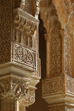 Alhambra - Nasrid Palaces Columns Photographic Print