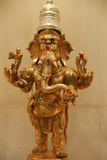 Ganesh Statue in Hindu Temple Photographic Print