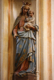 Saint-Corentin Cathedral, Quimper, Virgin and Child Photographic Print