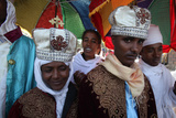 Wedding Procession in Lalibela Photographic Print