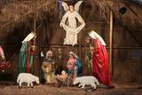 Christmas Crib Photographic Print