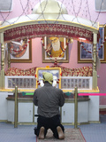 Sikh Temple Prayer Photographic Print