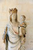 Notre Dame Du Bec Benedictine Abbey Virgin and Child Photographic Print