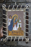 Nativity Icon Sold in Lalibela Photographic Print
