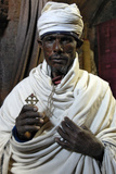 Priest in Lalibela Photographic Print