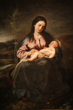Virgin and Child by Alonso Cano Photographic Print