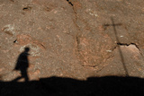 Pilgrim Walking to Lalibela Photographic Print
