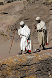 Pilgrims in Lalibela Photographic Print