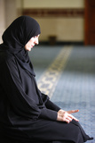 Muslim Prayer Photographic Print