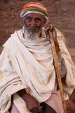 Pilgrim in Lalibela Photographic Print