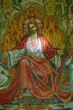 Jesus's Sacred Heart, La Colombiere Chapel Fotografisk tryk