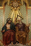 Holy Trinity Sculpture in Madrid Cathedral Photographic Print