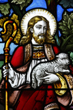 Jesus the Good Shepherd, XIXth Century, St John's Angelican Church Photographic Print