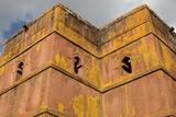 Bieta Ghiorghis (Saint George's House) Church in Lalibela Photographic Print
