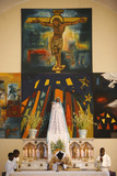 Mass in Popenguine Photographic Print