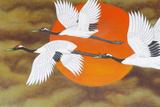 Bird Painting at Bongeunsa Temple Photographic Print