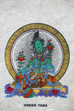 Green Tara, Buddhist Symbol of Prosperity Photographic Print
