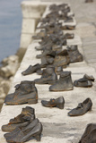 Holocaust Memorial Along the Danube River Photographic Print