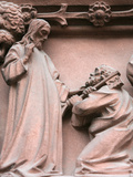 Saint Peter's Life Depicted on St Peter's Church Tympanum Photographic Print
