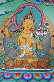 Manjushri, Divinity of Knowledge, Kopan Monastery Photographic Print