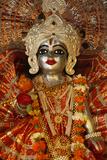 Krishna Statue in a Hardwar Temple Photographic Print