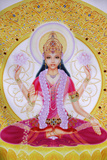 Picture Showing Lakshmi, Goddess of Wealth and Consort of Lord Vishnu Photographic Print