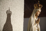 Crowned Virgin Mary Statue Photographic Print