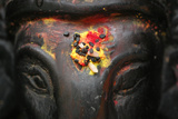 Elephant-Headed Hindu God Ganesh Lámina fotográfica