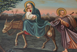 Saint Anthony Coptic Church Painting, The Flight to Egypt Photographic Print