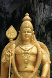 Murugan Statue at Batu Caves Photographic Print