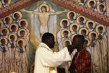 Catholic Mass in Togoville Photographic Print