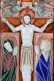 Jesus's Crucifixion Photographic Print