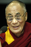 The Dalai Lama in Paris-Bercy Photographic Print