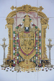 Sri Maha Mariamman Temple, Vishnu Photographic Print