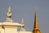 Silver Pagoda - Statues and Chedi Photographic Print