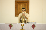 Sunday Mass in Maronite Church Photographic Print