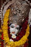 Krishna Statue in a New Delhi Krishna Temple Photographic Print