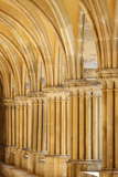 Royaumont Abbey Cloister Capitals and Pillars Photographic Print