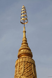 Stupa in Wat Toul Tompong Photographic Print