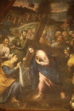 Sta Veronica and Jesus Carrying His Cross Photographic Print