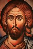 Greek Orthodox Icon Depicting Christ Photographic Print