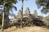 Cambodia - Angkor - Ta Keo State Temple Photographic Print