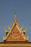 Wat Preah Keo Morokat, also known as the Silver Pagoda or Temple of the Emerald Buddha Photographic Print