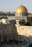 Wailing Wall and Dome of the Rock, Jerusalem Photographic Print